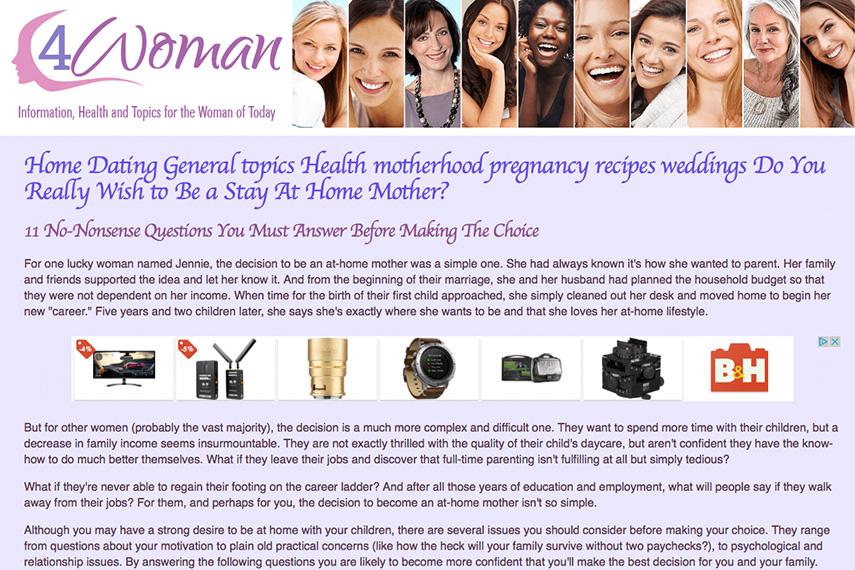 for women website